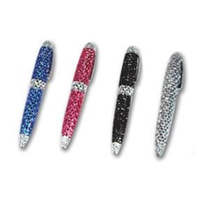 #GIF-7966 Ballpoint pen decorated with sparkling Crystal.