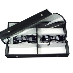 #TR-23BCL View Top Eyewear Case Fits 6 Pairs Large Eyewears.