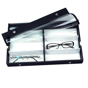 #TR-23BC View Top Eyewear Case Fits 6 Pairs Small,Medium Eyewears.