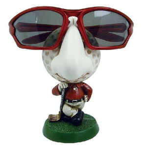 "#DP3422 Eyewear Doll Display - Golf Ball, 2 3/4"" W X 3 1/2""D X 4 1/2""H"