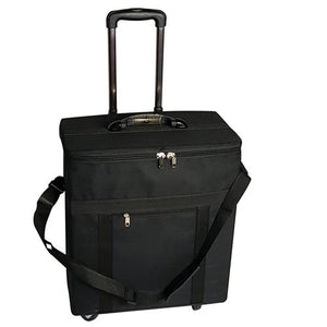 #CS-020P Eyewear Storage/Travel Carry-On Bag With 4 Roller-Blade Wheels And An Extendable Handle 18'' X 12' X 22''H