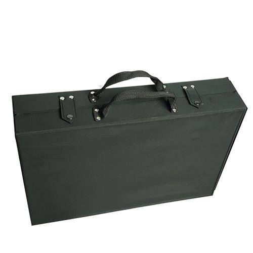 "#TR-1616BC Eyewear Carrying Cases w/Clear Lid  For 32 Frames, 19"" X 12 1/2"" X 4 1/2""h"