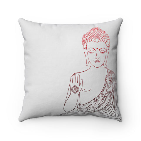 Seated Gautama Buddha Decorative Pillow Infinite Ahimsa Awesome Buddha Decorative Pillows