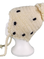 Wool Dotted hat #7911D
