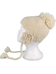 Wool Flower hat #7911F