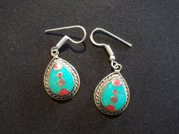 Tibetan fashion earring #10307