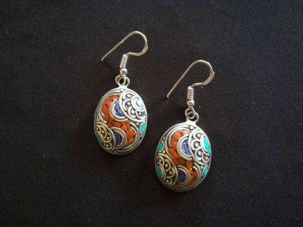 Tibetan fashion earring #10314