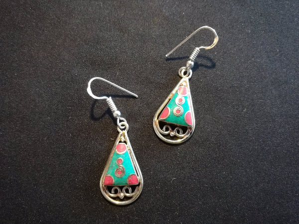 Tibetan Fashion earring #10303