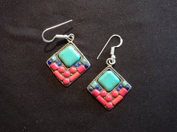 Tibetan Fashion earring #10312