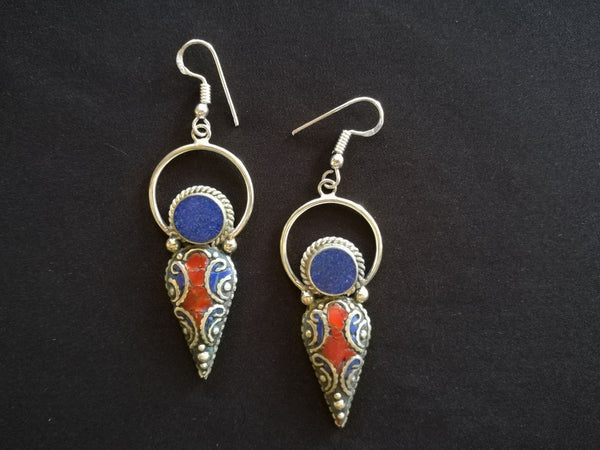 Tibetan Fashion earring #10311