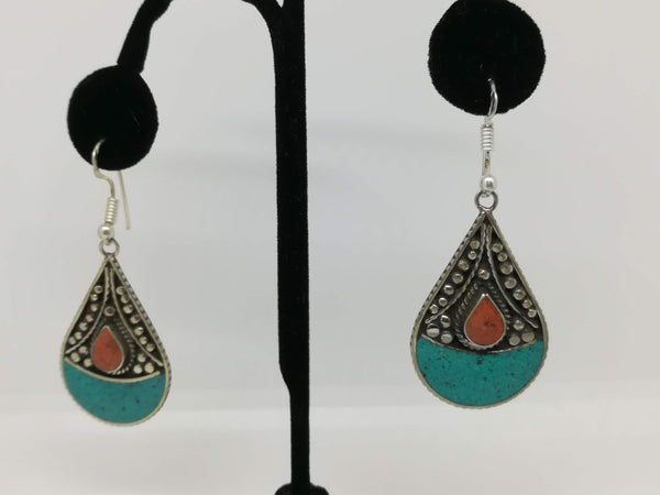 Tibetan fashion earring #10304