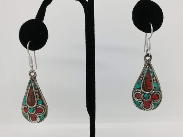 Tibetan fashion earring #10306