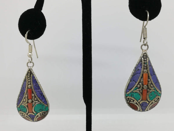Tibetan fashion earring #10301