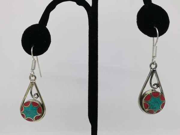 Tibetan fashion earring #10302