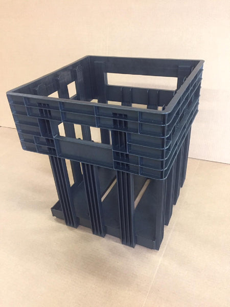 15 Dozen Plastic Egg Crate in Black