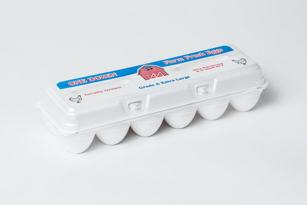 XL STOCK FOAM EGG CARTON- 12 ct w/ Free Shipping*
