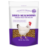Dried Mealworm Chicken Treats  w/ Free Shipping*