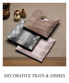 Privia Living - Decorative Trays & Dishes