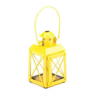 Yellow Railway Candle Lamp