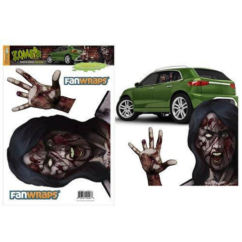 Zombie Sick Suzie Window Car Decal