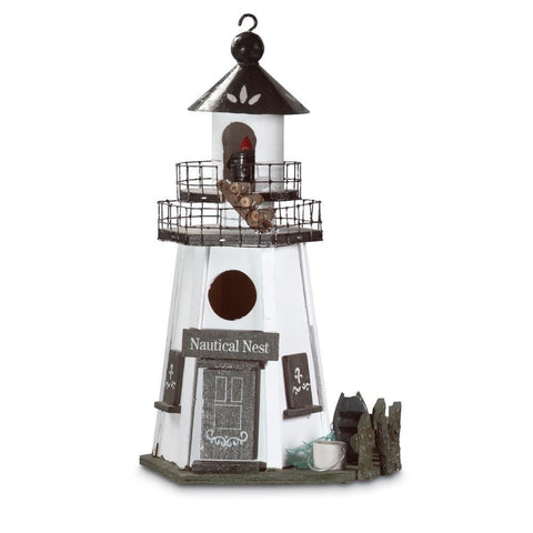 """Nautical Nest"" Birdhouse"