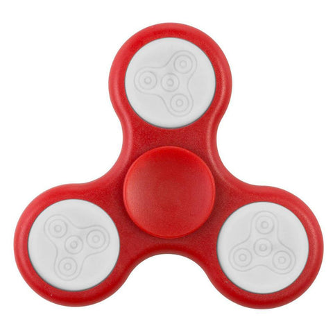 Red Fidgety Spinner