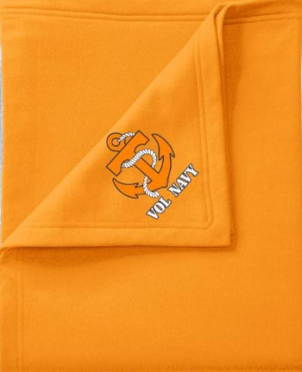 Vol Navy Blanket