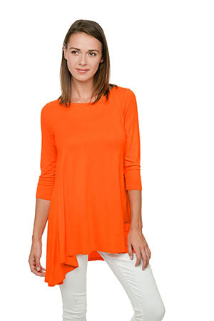 Orange Swing Tunic