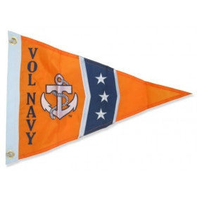 Vol Navy Burgee Boat Flag