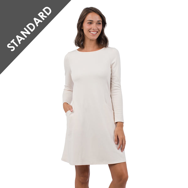 Tailgate White Pocket Dress