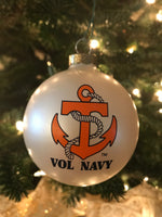 Vol Navy Christmas Ornament