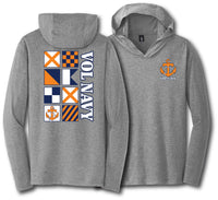 Vol Navy Flag Lightweight Hoodie