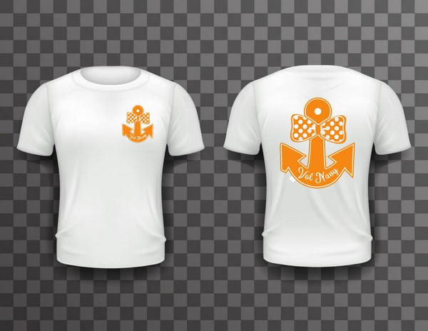 Vol Navy Bow Tie Shirt