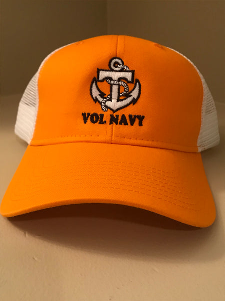 Vol Navy Orange/Mesh Hat