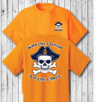 Vol Navy Pirate Orange Shirt