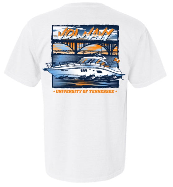 Vol Navy Bridge Shirt
