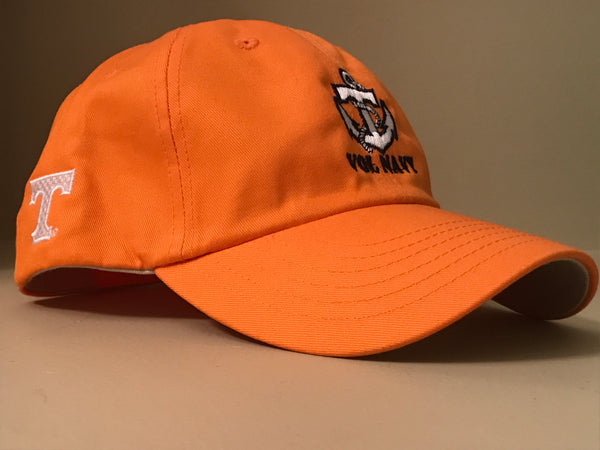 Orange Vol Navy Hat