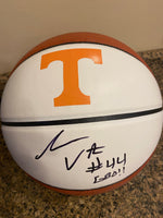 Isiah Victor Signed Brown Ball