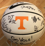 Full-size Basketball signed by 2018 Team