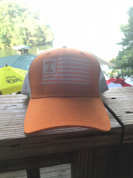 Vol United Orange Mesh Hat