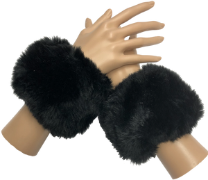 Faux Fur Cuff Set