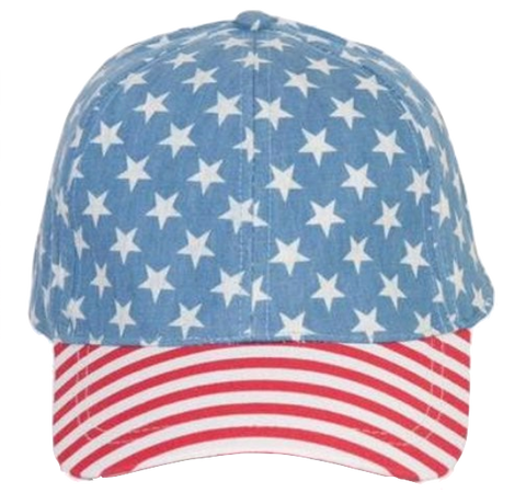 Stars and Stripes Flag Hat
