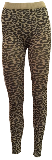 Cheetah Jacquard Legging