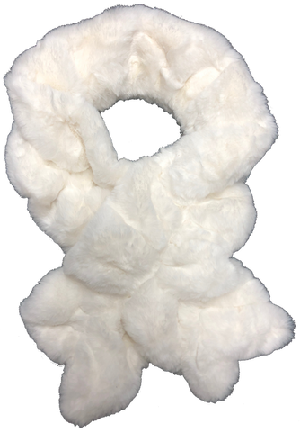 Luxe Faux Fur Pull-Thru scarf
