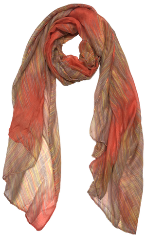 """Missoni"" Stripe Scarf"