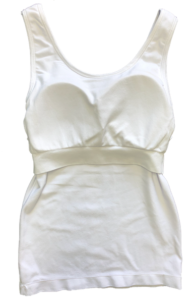 Bra Friendly Tank with Padded Shelf Bra