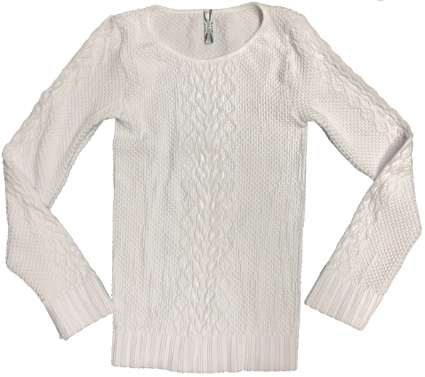 Long Sleeve Textured Top