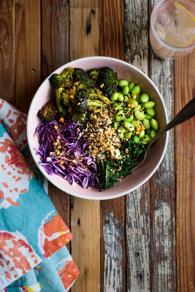 A Delicious Asian Inspired Grain Bowl