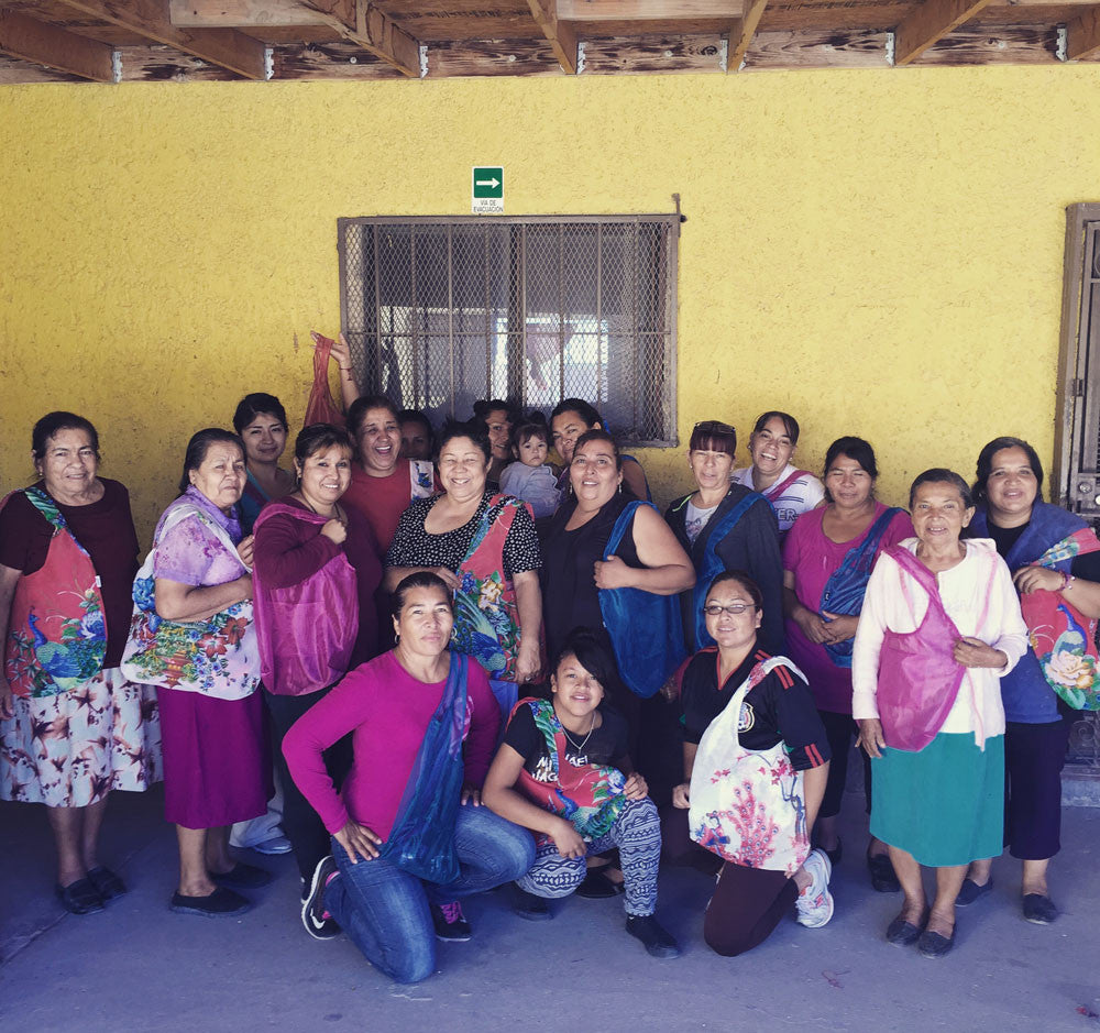 Ladies at Sewing Cooperative in Ciudad Juarez