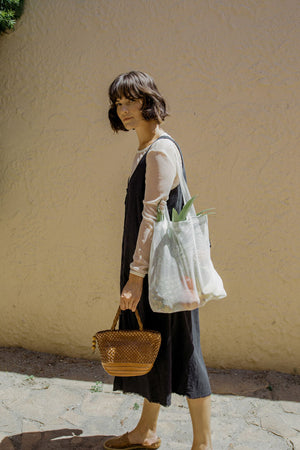 The Market Tote in Bio-Knit